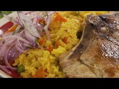 Peruvian Recipes, Rice Recipes, Stay Fit, Healthy Eating, Make It Yourself, Chicken, Youtube, Food, Kitchen
