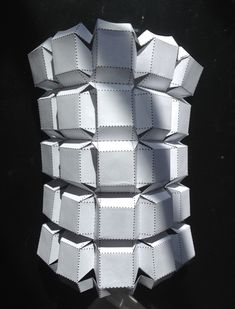 Using kirigami elements, combining the folding of origami with cutting techniques, this box fold demonstrates a pluripotent design in which a single kirigami pattern can be robustly manipulated into a variety of three-dimensional shapes.