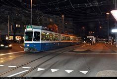 On the way to downtown Zurich: 2020 VBZ Verkehrsbetrieb Zurich Be 4/6 at Zurich, Switzerland by John Wiesmann