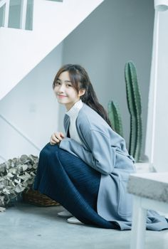 The beauty cannot be sweeter than the hot girl million fans from China - Hot Babes Ulzzang Korean Girl, Cute Korean Girl, Girl Korea, Foto Casual, Beautiful Asian Girls, Japanese Girl, Outfit, Asian Beauty, Cute Girls