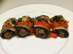 Intensive Phase - Eggplant involtini...