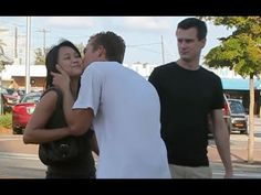 Kissing Strangers their reactions are hilarious