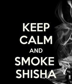 Keep calm and smoke shisha. Relax at X Hale