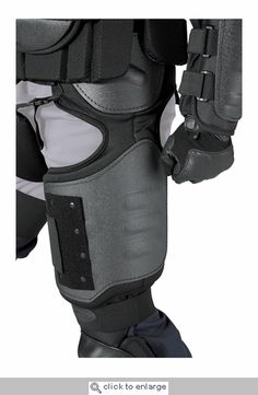 Hatch Exotech Thigh and Groin Section. Designed for blunt trauma protection during riot control situations, the Hatch ETP200 ExoTech Thigh and Groin section will help keep your valuables safe.