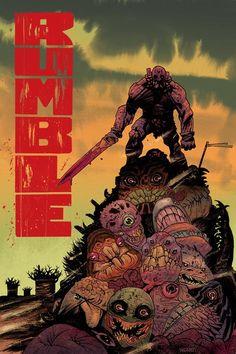 Rumble #9 by James Harren *