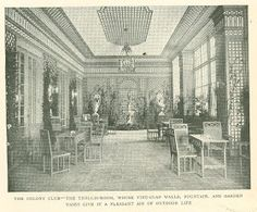 digital history project: Colony Club New York City Woman's Club
