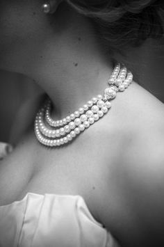 Pearls...must have pearls