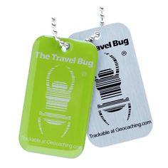 #Geocaching QR #TravelBug green: 6.95 €