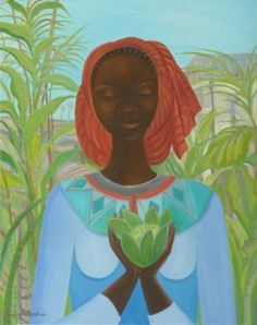 Janice Sylvia Brock (English born and divides her time between Barbados and England) African American Artist, American Artists, Jamaican Art, Colors And Emotions, Caribbean Art, Tropical Art, Painting Inspiration, Illustration Art, Illustrations