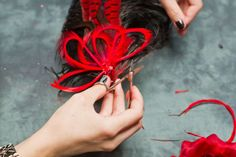 how to make a fascinator : Pin Curl Magazine