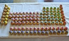 The Periodic Table of Cupcakes