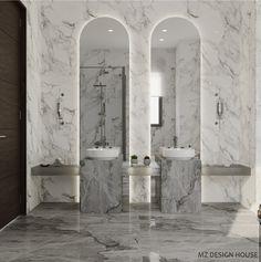 Master bedroom on Behance Bathroom Design Luxury, Bath Design, Contemporary Bathrooms, Modern Bathroom, Showroom Interior Design, Art Deco Bathroom, Restroom Design, Toilet Design, Beautiful Bathrooms