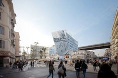 FILMULET FAIN! Proposed Station Extension Promotes Urbanism and Social Interaction in Nice