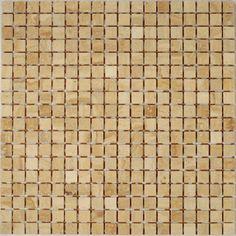 Dell'Arte - mozaiki dekoracyjne Botticino Lappato 15 (plaster 30x30)