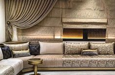 Home Room Design, Home Interior Design, Living Room Designs, Sofa Cumbed Design, Design Salon, Moroccan Decor, House Rooms, Luxury Homes, Furniture
