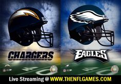 San Diego Chargers vs Philadelphia Eagles Live Streaming