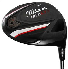 A new high speed, forged face insert on these mens 913 D3 golf drivers by Titleist produces more speed over a larger area of the clubface