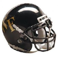 Wake Forest Demon Deacons NCAA Authentic Full Size Helmet