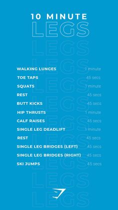 Theres no excuses for missing your workout, with these quick and easy 10 minute exercises. It can be completed at home or at the gym. Let's smash those fitness targets, together! Fit Girl Motivation, Fitness Motivation, Motivation Quotes, Fitness Goals, Fitness Tips, Leg Workout At Home, Workout Fitness, Workout Plans, Girl Workout