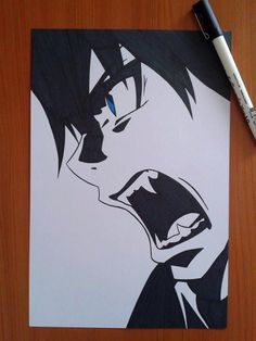 Rin from Ao no Exorcist. I dedicate this drawing to my friend Halex, who love this guy xD Hope you like it Okumura Rin Anime Boy Sketch, Naruto Sketch, Art Drawings Sketches Simple, Cute Drawings, Anime Character Drawing, Manga Drawing, Manga Art, Rin Okumura, Tokyo Ghoul Drawing