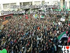 New Study: Climate Change Played Role In Syrian Uprising    Read it here: http://www.csmonitor.com/Environment/Energy-Voices/2013/0325/Did-climate-change-cause-the-Syrian-uprising