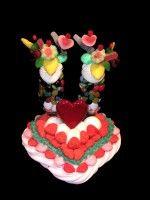 Miss flûtes cœur en bonbons