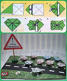 (disambiguation) Origami is the traditional Chinese folk art of paper folding. Origami may also refer to: Origami Dog, Money Origami, Homemade Gifts, Diy Gifts, Best Wedding Gifts, Coffee Gifts, Diy And Crafts, Paper Crafts, Paper Folding