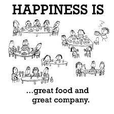 Happiness is Great Food and Great Company #DealMonkApp #LaunchingSoon #Happiness #Food #Discounts Visit us at deal-monk.com