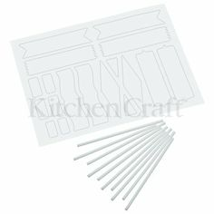 @PJ Marketing @Kitchen Craft http://www.kitchencraft.co.uk #sweetly_does_it #plain_decorative #cake_toppers