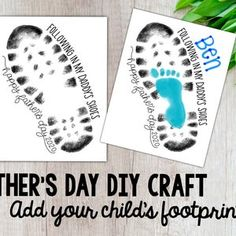 Diy Father's Day Gifts From Baby, Homemade Fathers Day Gifts, Kids Fathers Day Crafts, Fathers Day Poems, Kids Daycare, Daycare Crafts, Classroom Crafts, Daycare Ideas, Preschool Crafts