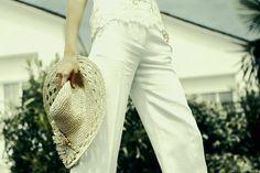 vestidos de novia de inspiracion surfera: pantalón de Angel Schlesser
