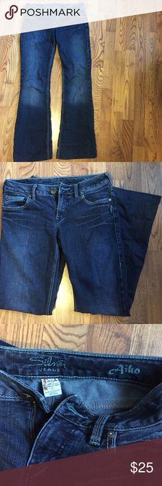 Long Silver Jeans