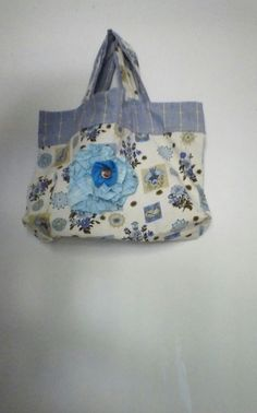 OTTO+Optimist+Take+Time+Out+Market+Bag+Blue+by+OTTO4CREATIVITY