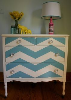 Painted Furniture Patterns | PAINTED FURNITURE / Use Uppercase Living's new patterns to achieve the ...