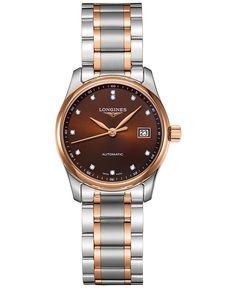 Longines Women's Swiss Automatic The Longines Master Collection Two-Tone Stainless Steel Bracelet Watch 29mm L22575677