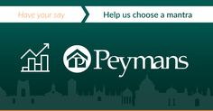 Help us choose a mantra that you feel is most suitable to represent Peymans!  Visit tr.im/Peymans to take part in our poll.