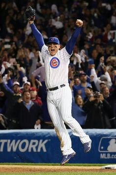 Chicago Cubs beat the St. Louis Cardinals to advance to the National League Championship Series
