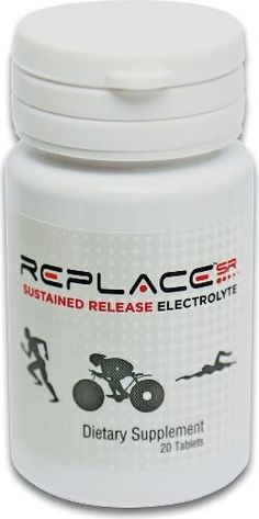 Endurance Products Co. Replace Sustained Release Electrolytes - 20 Tablets