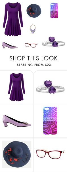 """""""The Baby Sister"""" by elizabethsimmons-2 on Polyvore featuring WithChic, Roger Vivier and country"""