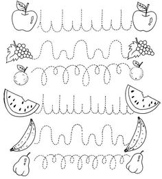 Crafts,Actvities and Worksheets for Preschool,Toddler and Kindergarten.Free printables and activity pages for free.Lots of worksheets and coloring pages. Preschool Writing, Preschool Printables, Preschool Learning, Kindergarten Worksheets, Writing Activities, Preschool Activities, Teaching, Pre Writing, Writing Practice
