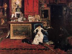 William Merritt Chase - Interior Of The Artists Studio