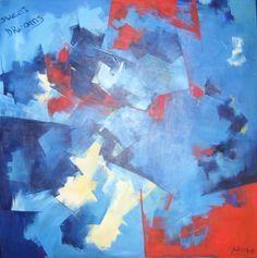 """""""Sweet Dreams"""" - Paula Weiszkopf -  Acrílico - 100  x 100 cm. www.esencialismo.com"""