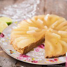 Birnentorte » Kochrezepte von Kochen & Küche Chutney, Dessert, Camembert Cheese, Pineapple, Fruit, Food, Pear Recipes, Pies, Eating Raw