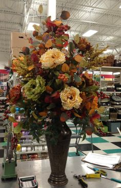 Talented Michaels Desginers Fall arrangement - Kim T.