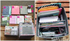 Baby Got Bags: Office in a Box! --need to do this!