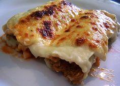 Asopaipas. Recetas de Cocina Casera.: Canelones de Atún