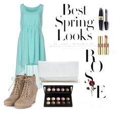 """""""Best Spring Looks"""" by vgirl13 on Polyvore featuring Duck Farm, GUESS, H&M, Max Factor, Yves Saint Laurent, women's clothing, women's fashion, women, female and woman"""