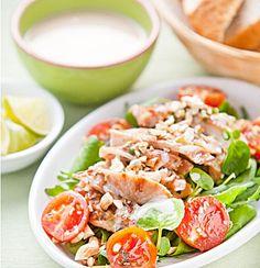 Thai Chicken Salad... Happy Hour Appetizers 78 | Hampton Roads Happy ...