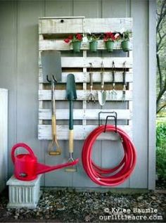 Organize your Gardening Tools