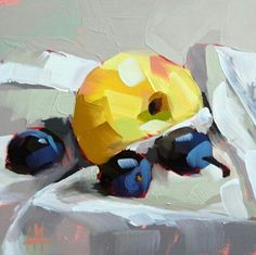 Apple and Plums original still life oil painting by Moulton 6 x 6 inches on panel prattcreekart. Academic Drawing, Still Life Oil Painting, Fruit Painting, Still Life Art, Fruit Art, Painting Inspiration, Painting & Drawing, Painting Canvas, Painting Abstract